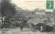 """86 Vienne CPA FRANCE 86 """"L'Isle Jourdain, champ de foire des Boeufs"""""""