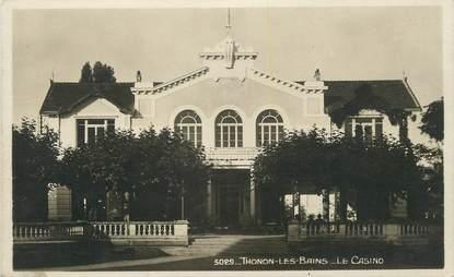 """/ CPSM FRANCE 74 """"Thonon Les Bains, le casino"""""""