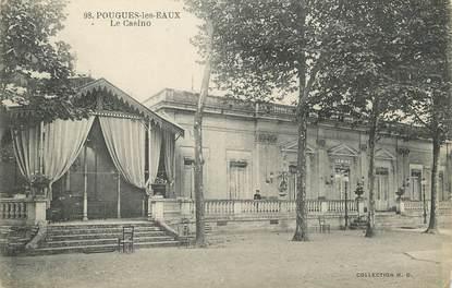 """/ CPA FRANCE 58 """"Pougues les Eaux, le casino"""""""