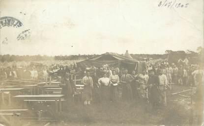 """CARTE PHOTO FRANCE 51 """"Mourmelon,  après le cyclone du 30 juin  1905"""""""