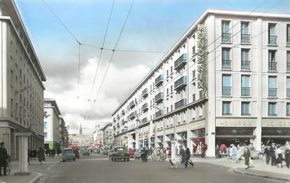 """/ CPSM FRANCE 29 """"Brest, la rue de Siam"""" /  COMMERCE"""