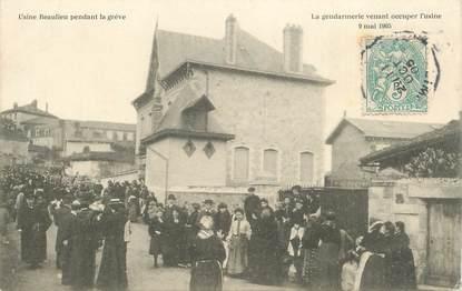 "CPA FRANCE 87 ""Limoges, la gendarmerie, 1905"""