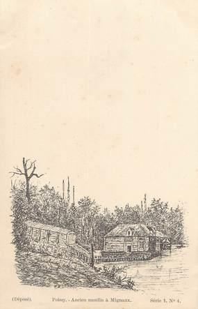"""/ CPA FRANCE 78 """"Poissy, ancien moulin à Mignaux, série 1 nr4"""""""
