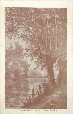 """/ CPA FRANCE 78 """"Villennes sur Seine, les Saules"""""""