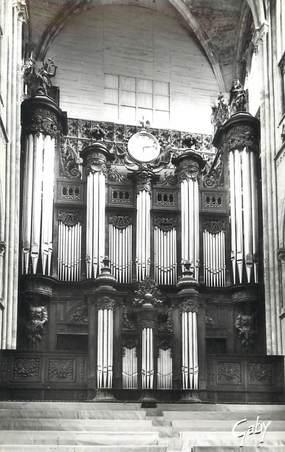 """/ CPSM FRANCE 76 """"Rouen, les grandes Orgues de la cathédrale"""""""