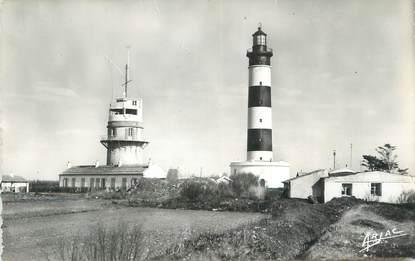 """/ CPSM FRANCE 17 """"Ile d'Oléron, Saint Denis Chassiron, phare et Sémaphore"""""""