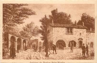"""/ CPA FRANCE 17 """"La Rochelle, intérieur du Bastion Saint Nicolas"""""""