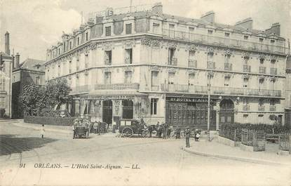"""/ CPA FRANCE 45 """"Orléans, l'hôtel Saint Aignan"""""""