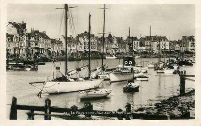 """/ CPSM FRANCE 44 """"Le Pouliguen, vue sur le port"""""""