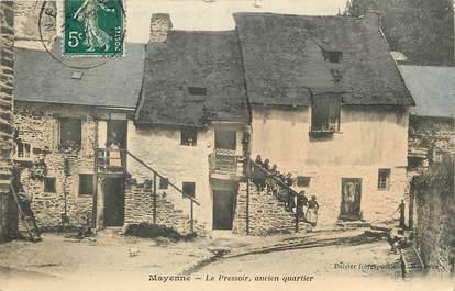 """CPA FRANCE 53 """"Mayenne, le Pressoir, ancien quartier"""""""