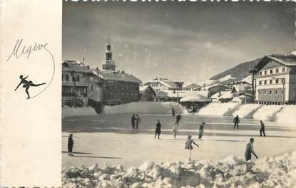 """/ CPSM FRANCE 74 """"Megève, la patinoire municipale"""""""