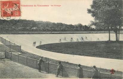 """/ CPA FRANCE 94 """"Vélodrome de Vincennes, le virage"""""""