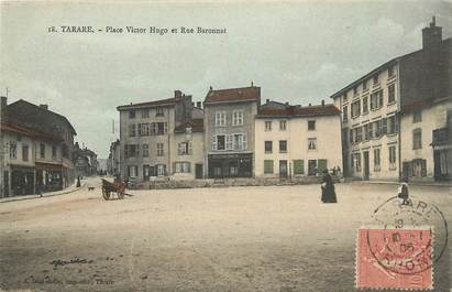 "CPA FRANCE 69 ""Tarare, Place Victor"""