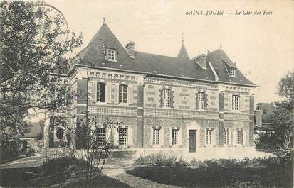 """/ CPA FRANCE 76 """"Saint Jouin, le clos des fées"""""""