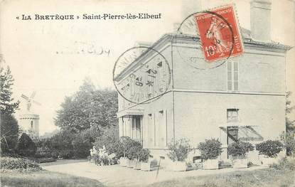 "/ CPA FRANCE 76 ""La Bretèque, Saint Pierre lès Elbeuf"""