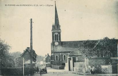 """/ CPA FRANCE 76 """"Saint Pierre de Varengeville, l'église"""""""