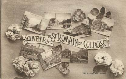 "/ CPA FRANCE 76 ""Saint Romain de Colbosc"""