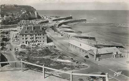 """/ CPSM FRANCE 76 """"Saint Valéry en Caux, la plage"""""""