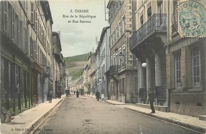 """CPA FRANCE 69 """"Tarare, rue de la République"""""""
