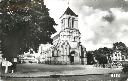 """/ CPSM FRANCE 76 """"Saint Saëns, l'église"""""""