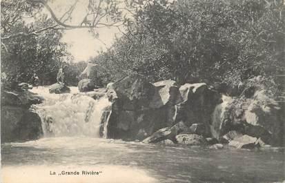 """CPA ILE MAURICE """"La Grande rivière"""""""