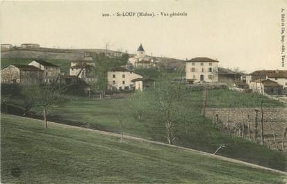 "CPA FRANCE 69 ""Saint Loup"""