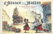 """75 Pari / CPSM FRANCE 75001 """"Paris, l'Alsace aux Halles"""" / BRASSERIE"""