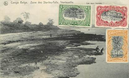 "CPA CONGO BELGE ""Zone des Stanley Falls"""