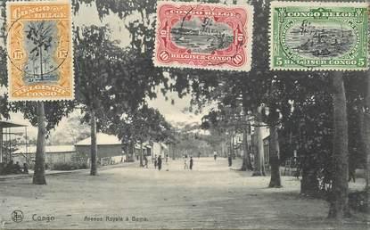 """CPA CONGO BELGE """"avenue royale à Boma"""""""