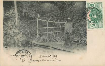 """CPA DAHOMEY """"Une source à Dan"""""""