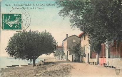 """CPA FRANCE 69 """"Belleville sur Saone"""""""