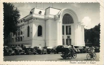 """CPSM VIETNAM """"Théâtre municipal à Saïgon"""""""