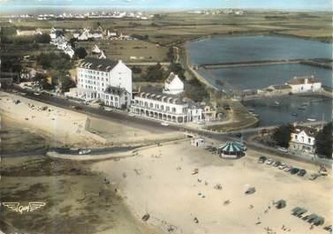 """/ CPSM FRANCE 56 """"Carnac, hôtels des rochers et Atlantique, bld de la plage"""""""