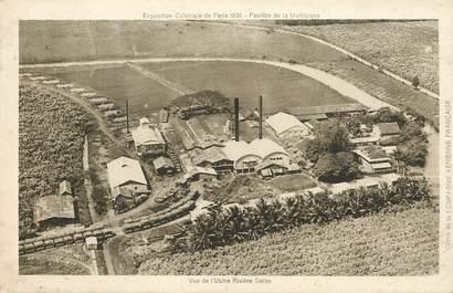 """CPA MARTINIQUE """"Exposition coloniale 1931, Usine Rivière Salée"""""""