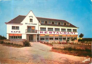 """/ CPSM FRANCE 56 """"Larmor Plage, Kerpape, hôtel de la plage"""""""