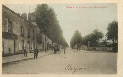 """CPA FRANCE 45 """"Pithiviers, bld du Chemin de fer"""""""