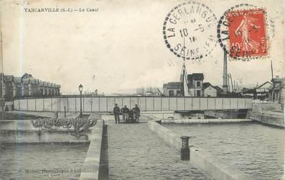 """/ CPA FRANCE 76 """"Tancarville, le canal"""""""
