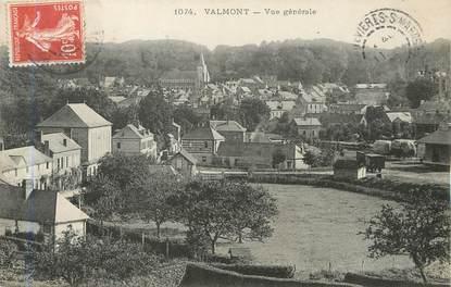 """/ CPA FRANCE 76 """"Valmont, vue générale """""""