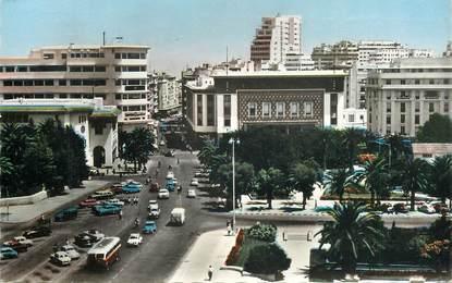 """CPSM MAROC """"Casablanca, avenue Hassan II"""""""