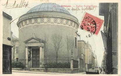 """CPA FRANCE 45 """"Orléans, Eglise évangélique"""""""