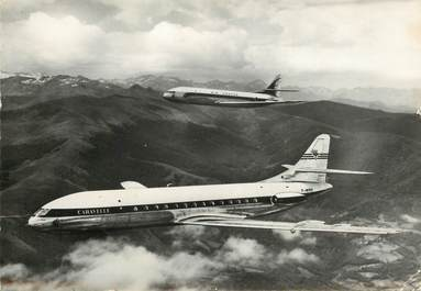 "CPSM AVIATION ""Caravelle  bireacteurs"""