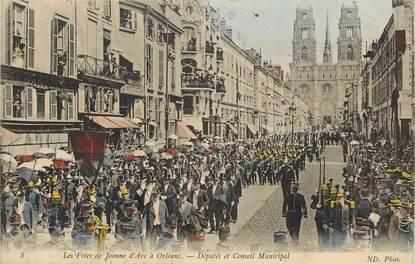 """CPA FRANCE 45 """"Orléans, les fêtes de Jeanne d'Arc"""""""