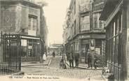 "76 Seine Maritime / CPA FRANCE 76 ""Yvetot, rue neuve et rue des Halles"""