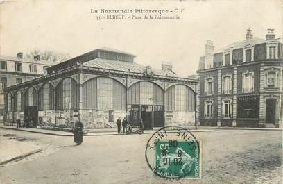 """/ CPA FRANCE 76 """"Elbeuf, place de la Poissonnerie"""""""