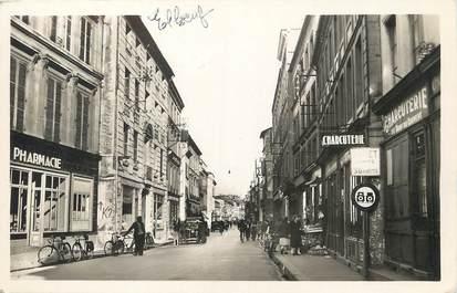 """/ CPA FRANCE 76 """"Elbeuf, rue de la République"""" / COMMERCE"""