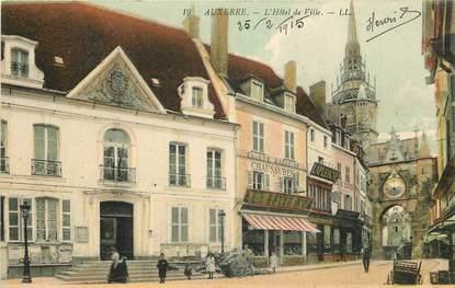 """CPA FRANCE 89 """"Auxerre, Hôtel de ville"""""""