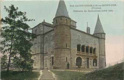 """CPA FRANCE 69 """"Saint Germain au Mont d'Or, Chateau de Quinsonas"""""""