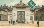 """02 Aisne CPA FRANCE 02 """"Soissons, le portail de Hotel de Ville"""""""