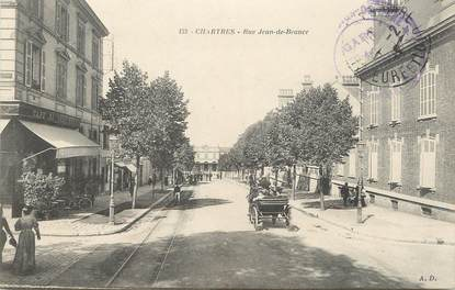 "/ CPA FRANCE 28 ""Chartres, rue Jean de Beauce"""