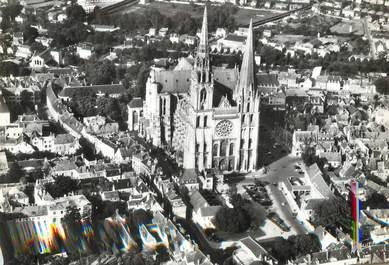 """/ CPSM FRANCE 28 """"Les Merveilles de Chartres"""""""